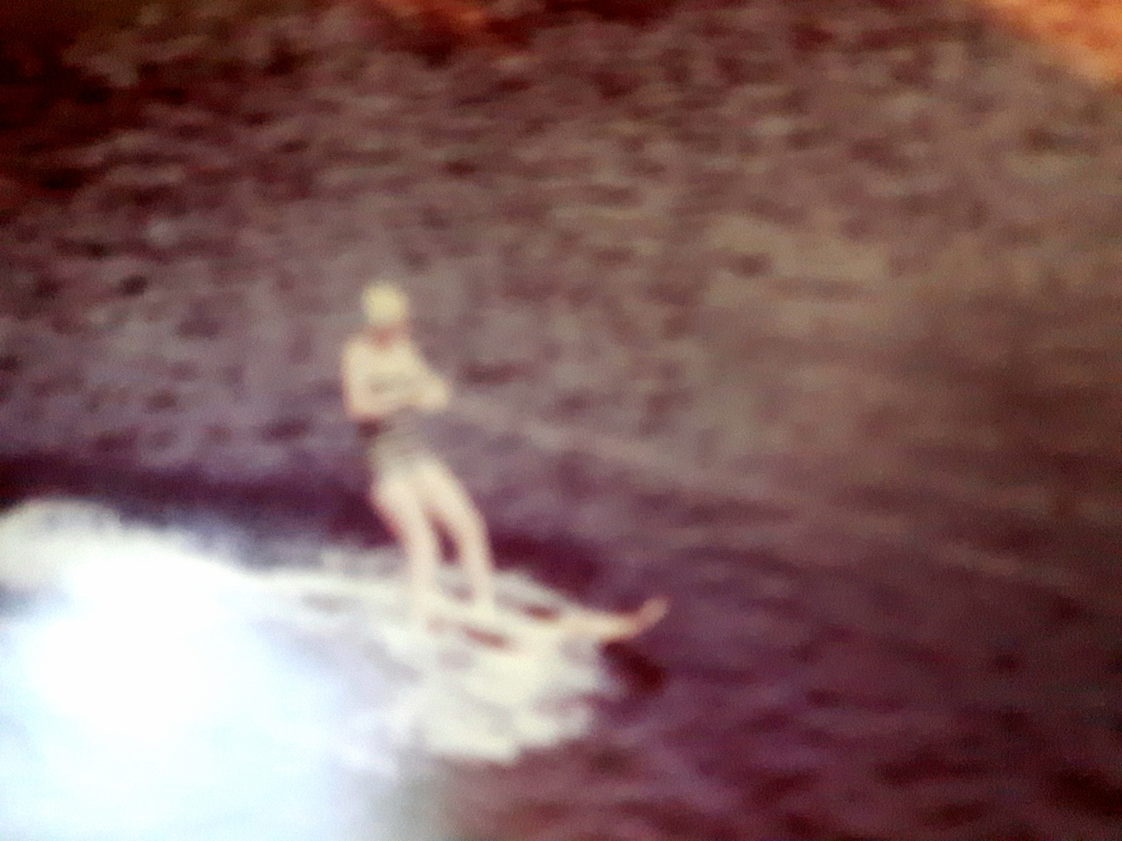 1960 waterskiiing