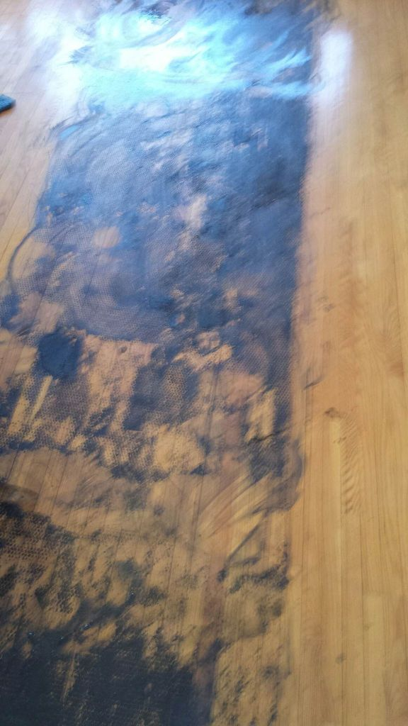 we applied Murphy's oils soap to the flooring